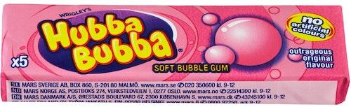 Hubba Bubba Hubba Bubba Original 35 g