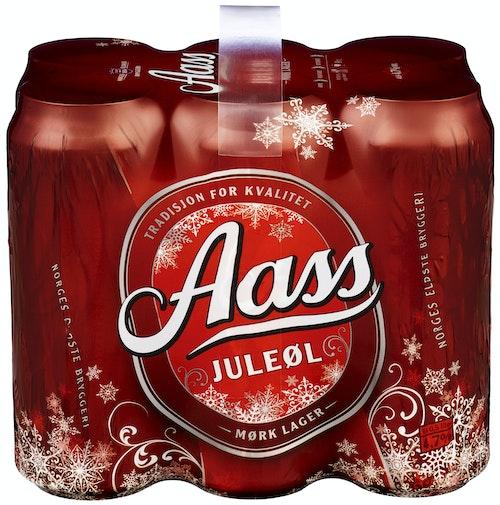 Aass Bryggeri Aass Juleøl 6 x 0,5l, 3 l
