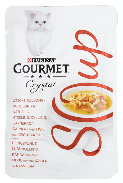 Gourmet Gold Gourmet Crystal Soup Kylling & Fisk 40 g
