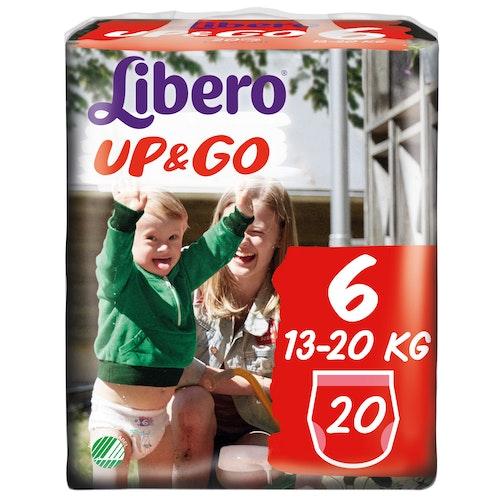 Libero Libero Up&Go Str.6 13-20kg, 20 stk