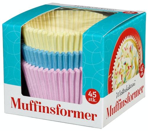 Mesterbakeren Muffinsformer 45 stk