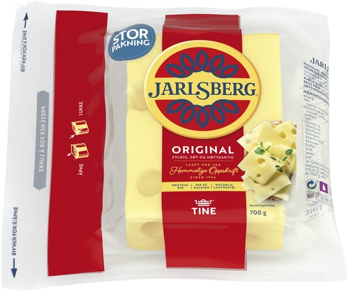 Tine Jarlsberg 27% 700 g
