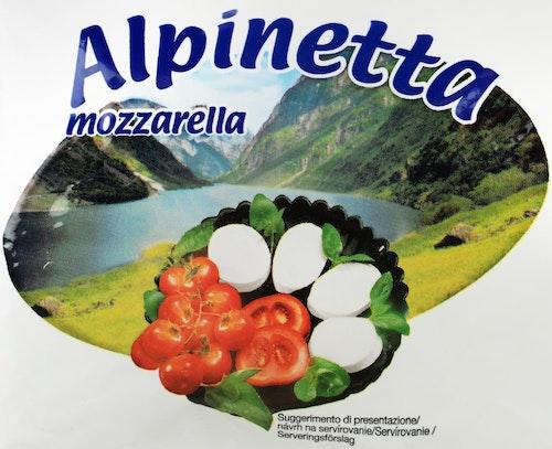 Fersk Mozzarella Alpinetta, 125 g