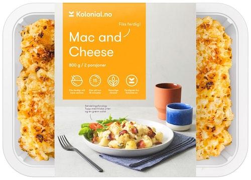 Kolonial.no Mac and cheese Fiks ferdig, 2 Porsjoner, 800 g