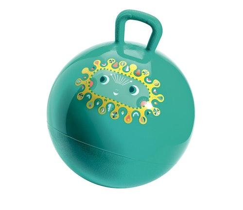 Djeco Grønn hoppeball 1 stk