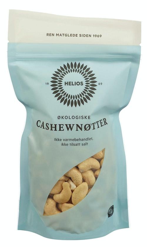 Helios Cashewnøtter Økologisk Usaltet, 150 g