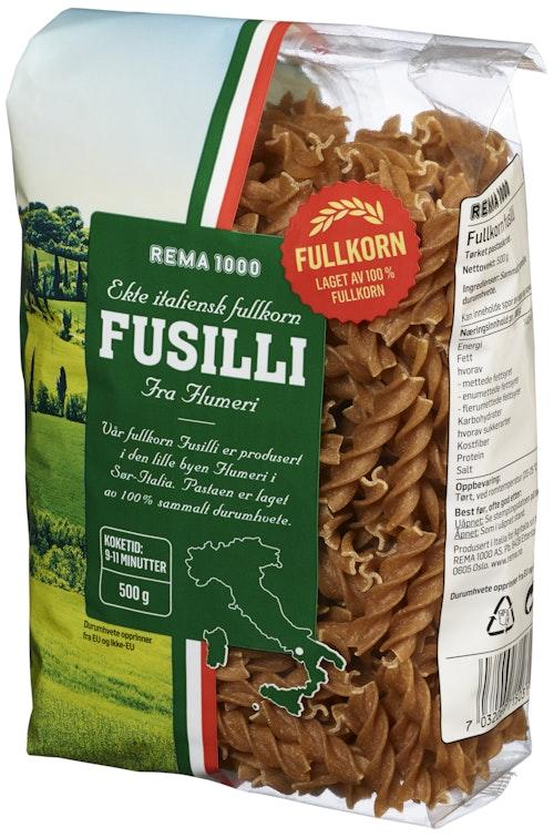 REMA 1000 Fullkorn Fusilli 500 g