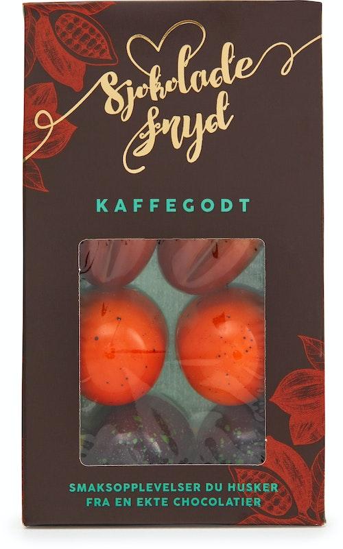 Jentene På Tunet Sjokoladefryd Kaffegodt 6 Biter, 70 g
