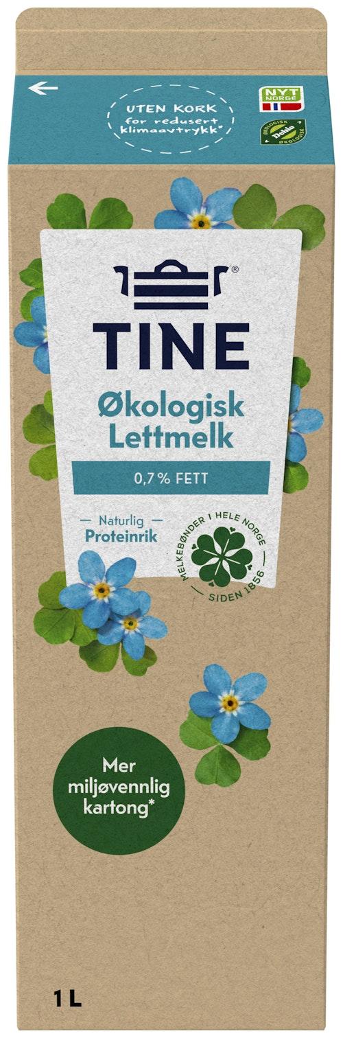 Tine TineMelk Lett 0,7%, Økologisk, 1 l