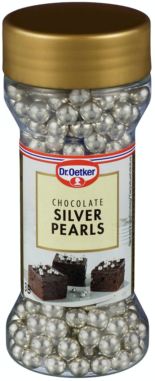 Dr. Oetker Silver Pearls Chocolate 52 g