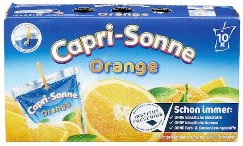 Capri Sonne Capri Sonne Appelsin 10 stk, 2 l