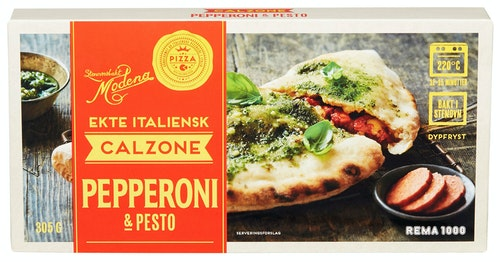 REMA 1000 Calzone Pepperoni & Pesto 305 g
