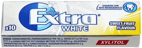 Extra Extra Sweet Fruit Sukkerfri, 14 g