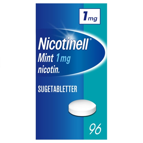 Nicotinell Nicotinell Sugetablett Mint 1mg, 96 stk