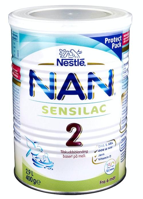 Nestlé Nan 2 Sensilac Fra 6 mnd, 2,9 l