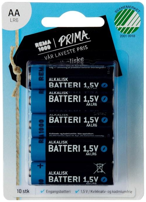 Soft Style Batterier AA 10 stk