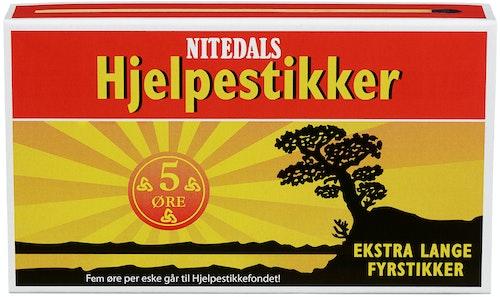 Nitedals Fyrstikker XL Ekstra Lange, 48 stk