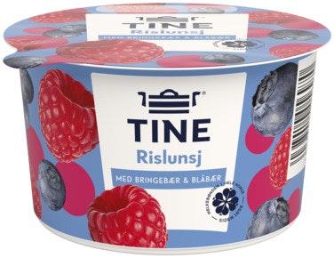 Tine Rislunsj med Bringebær & Blåbær Piano, 150 g