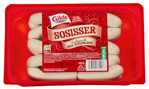 Gilde Sosisser 400 g