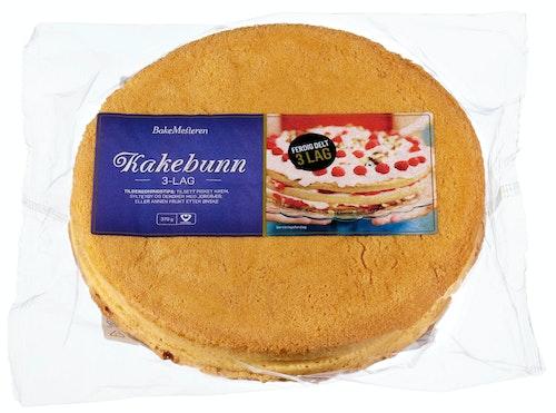 Bakemesteren Kakebunn i 3 deler 370 g