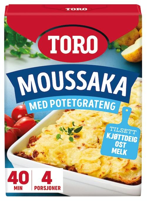 Toro Gresk Moussaka Pulver, 136 g