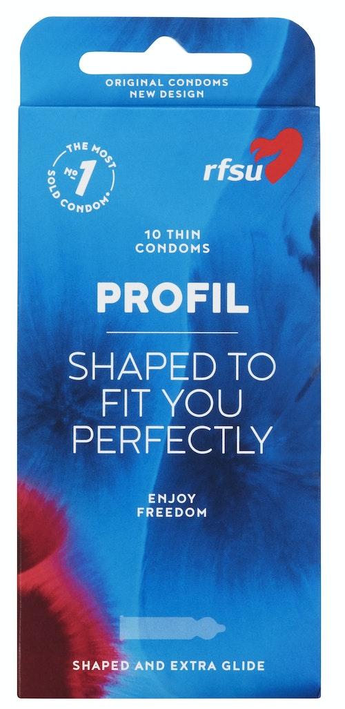 RFSU Kondomer Profil, 10 stk