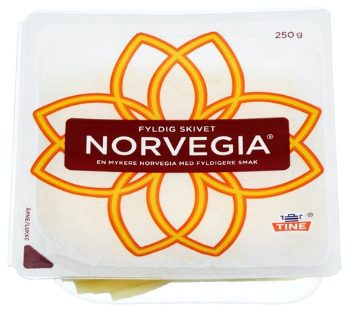 Tine Norvegia Fyldig Skivet 250 g