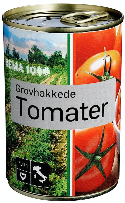REMA 1000 Tomater Grovhakkede 400 g