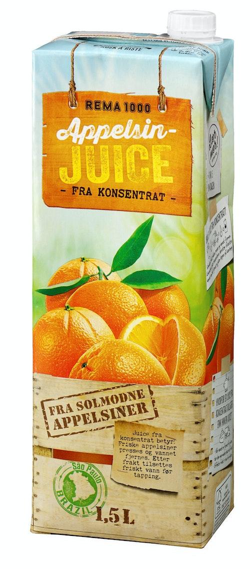 REMA 1000 Appelsinjuice 1,5 l