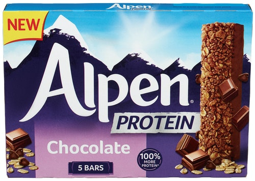 Alpen Alpen Bar Protein Chocolate, 5 stk, 170 g