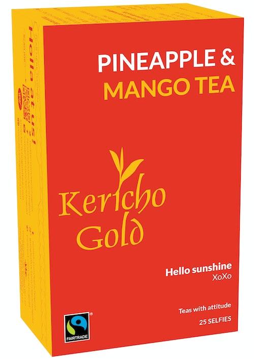 Kericho Gold Ananas & Mango Te 25 stk