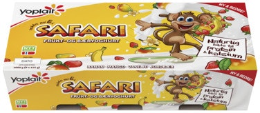 Yoplait Yoplait Safari Apeyoghurt 8x125g, 1 kg