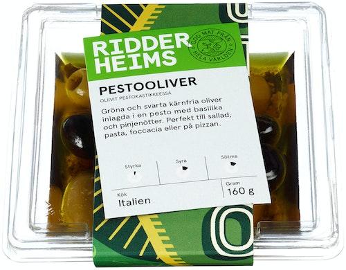 Ridderheims Pestooliven 160 g