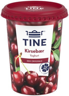 Tine Yoghurt Kirsebær 500 g