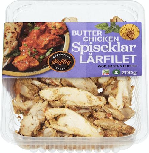 Den Stolte Hane Kylling Lårfilet Stekt & Spiseklar Butter Chicken 200 g