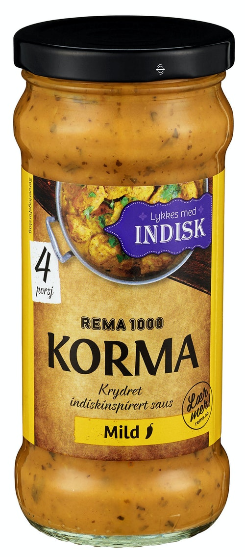 REMA 1000 Korma Karrisaus 350 g