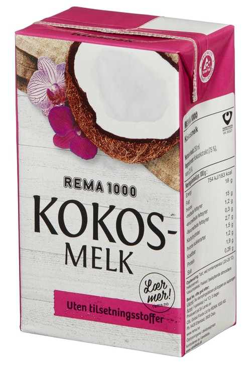REMA 1000 Kokosmelk 250 ml