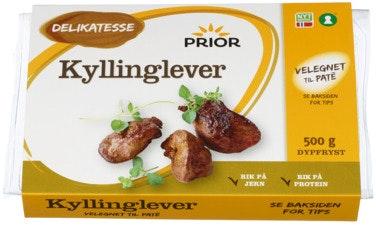Prior Kyllinglever 500 g