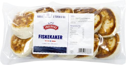 Fiskekaker 50% Engerviks Vår Laveste Pris, 500 g