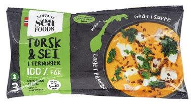 Norway Seafoods Torsk og Sei i terninger 300 g
