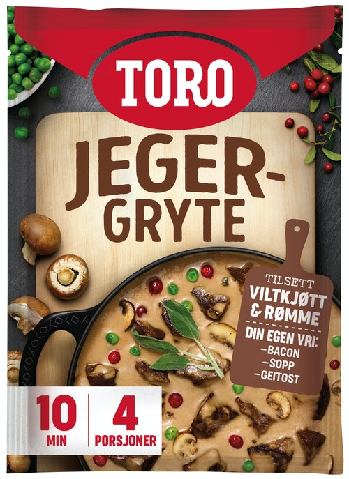 Toro Jegergryte 106 g