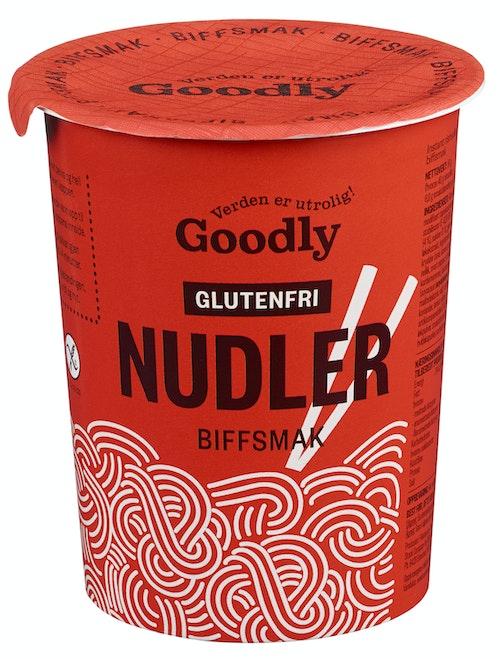 Goodly Nudler i Kopp  M/biffsmak Glutenfri, 50 g