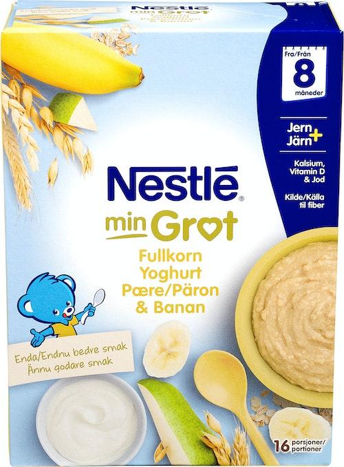 Nestlé Fullkorn Yoghurt Pære Banan Fra 8 mnd, 480 g