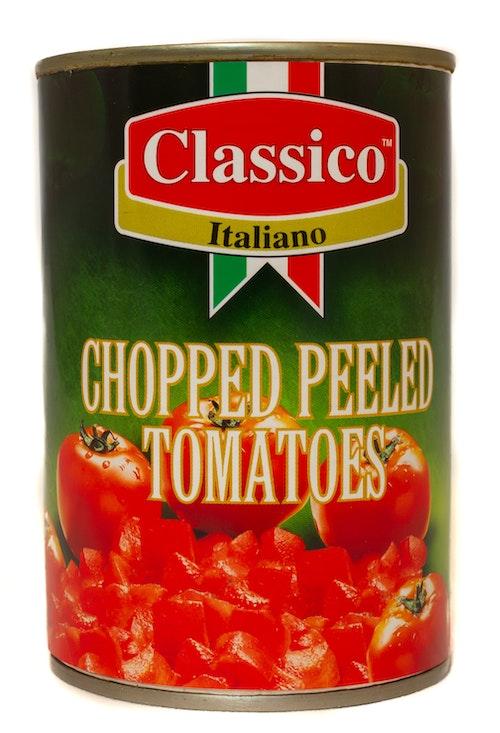 Grovhakkede Tomater 400 g