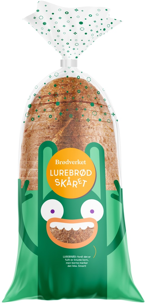 Brødverket Lurebrød Oppskåret, 1 stk