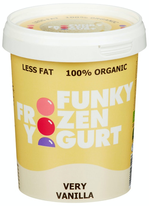 Funky Frozen Yogurt Very Vanilla Økologisk, 0,5 l