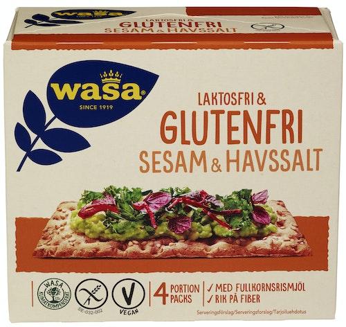 Wasa Sesam & Havsalt Glutenfri, 240 g