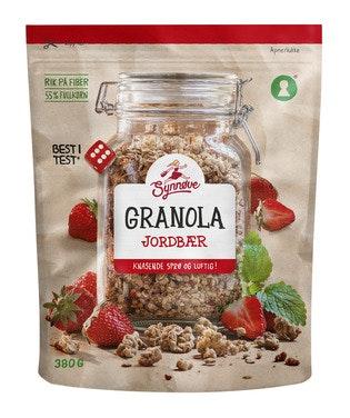 Synnøve Granola Jordbær 380 g