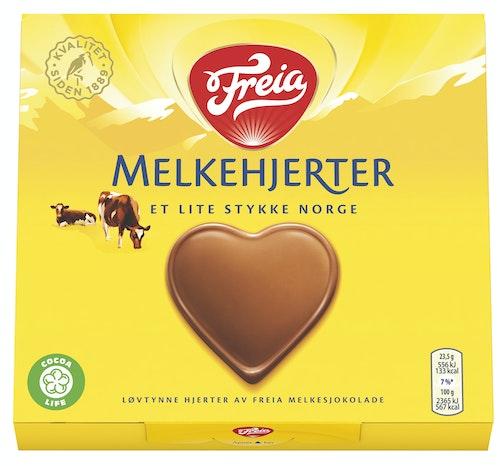Freia Melkesjokolade Hjerter 130 g