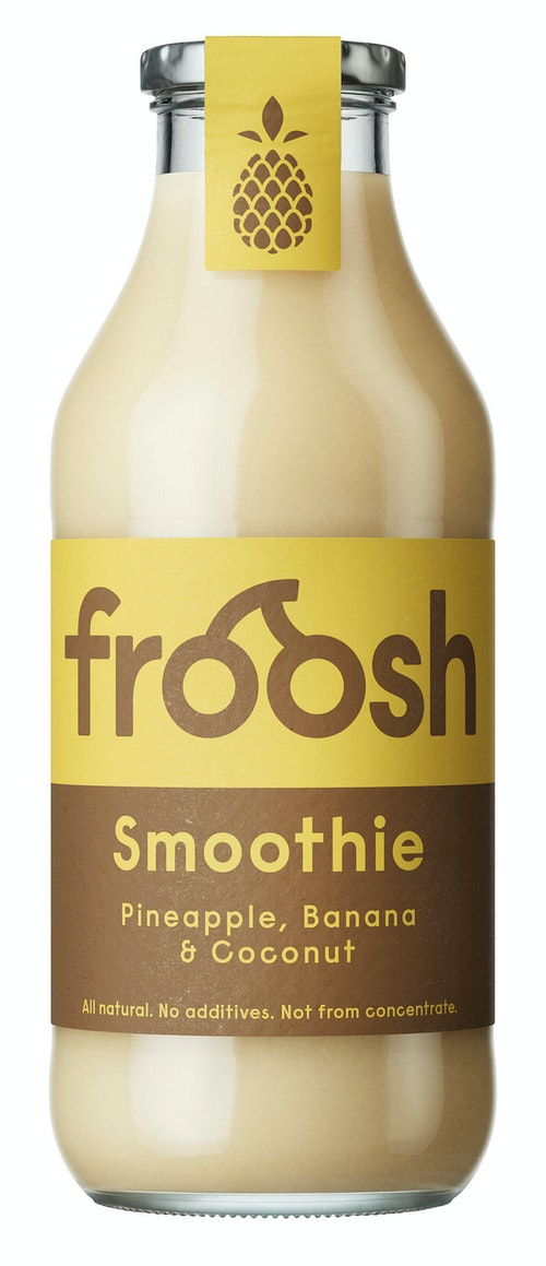 Froosh Smoothie Ananas, Banan & Kokos 750 ml